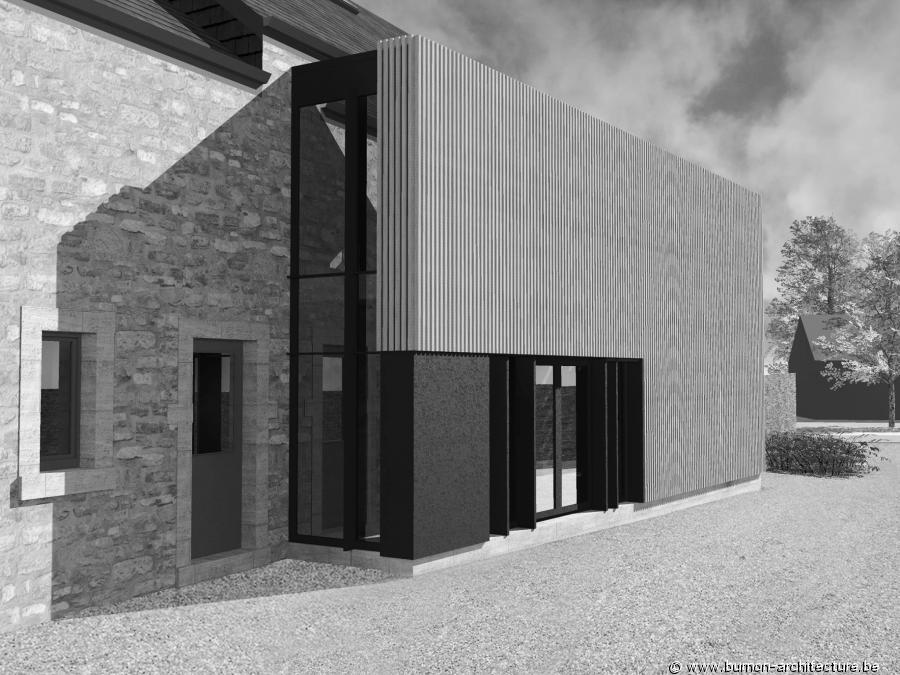 Publics et coles burnon architecture for Architecte transformation maison
