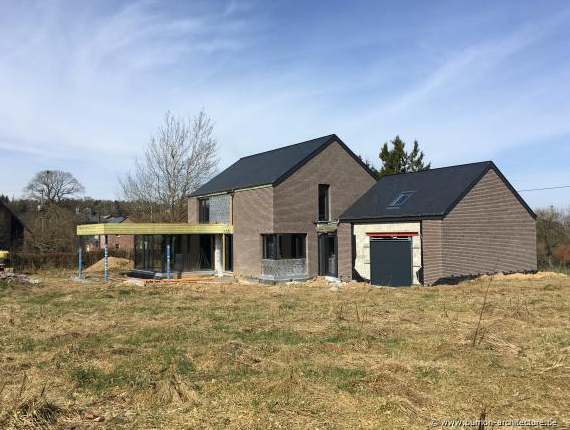 Construction maison passive - 6900 ROY