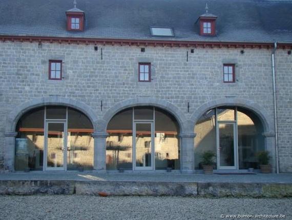 Erfgoef burnon architectuur - Vernieuwing p etite badkamer ...